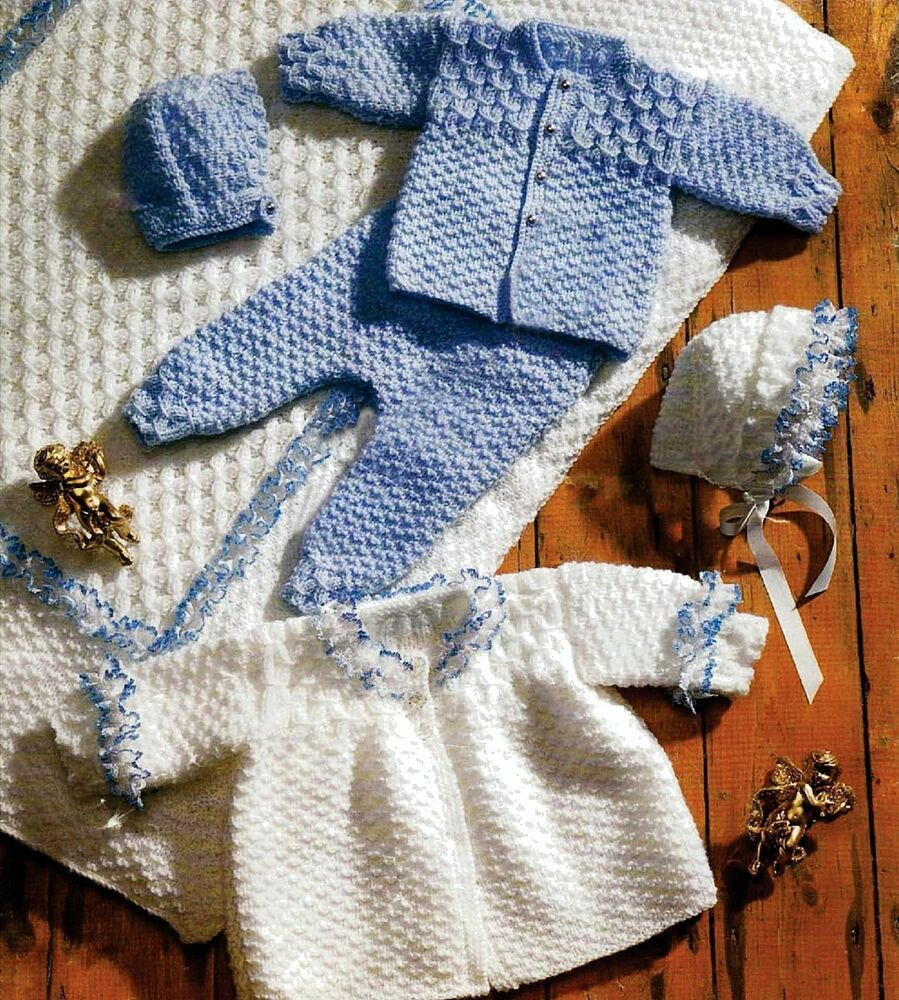 Crochet Pattern For Dolls Pram Blanket : PREMATURE BABY KNITTING PATTERN 12