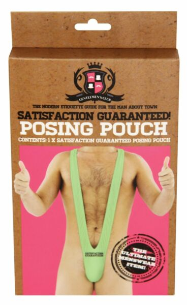 Royaume-UniSatisfaction  Posing Pouch Mankini Fancy Dress Stag Do