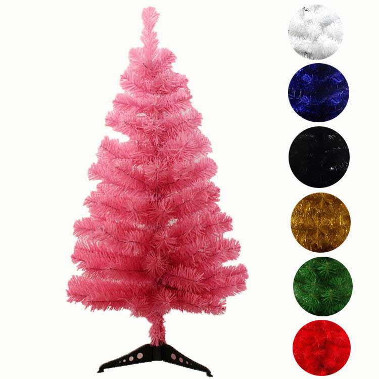 Artificial White Red Green Christmas Tree 2ft 3ft 7colors