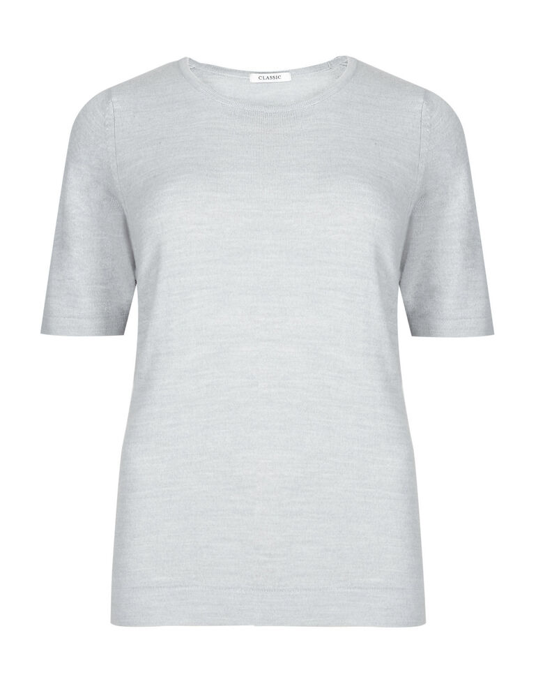 LADIES MARKS & SPENCER CLASSIC M&S ROUND NECK T SHIRT ...