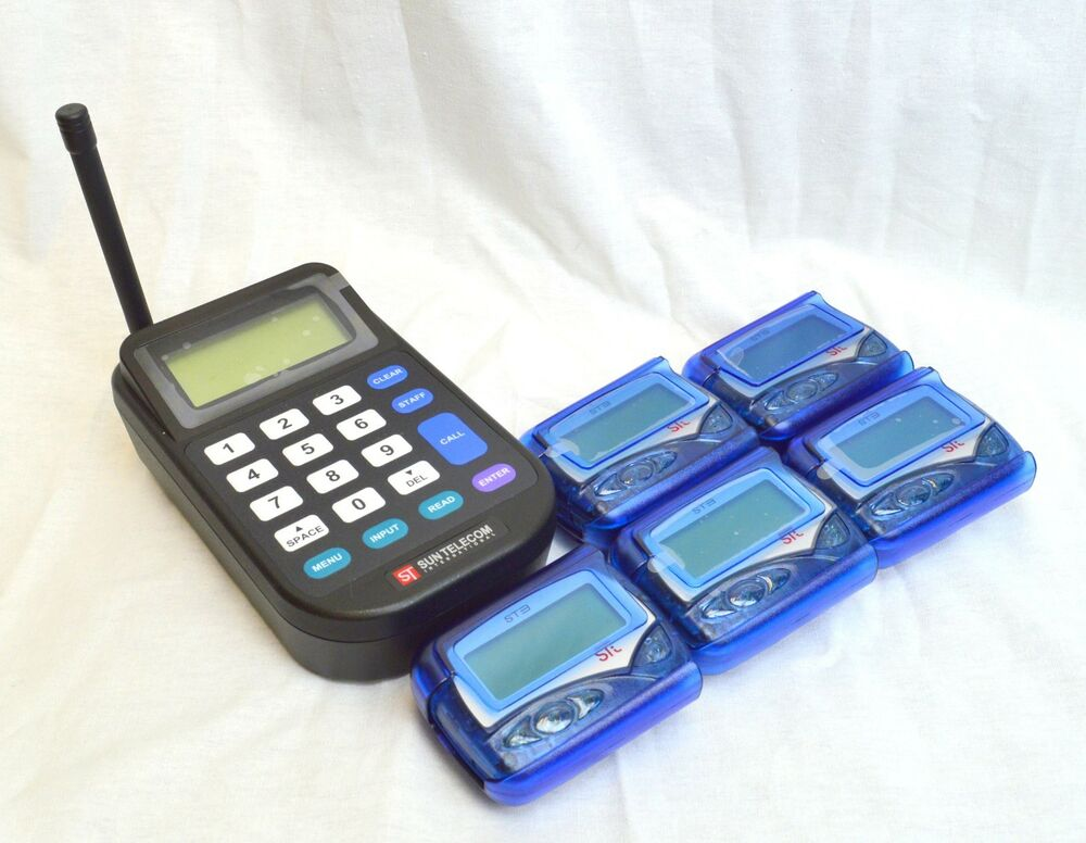 40 Restaurant Office Hospital Server Paging Pager System