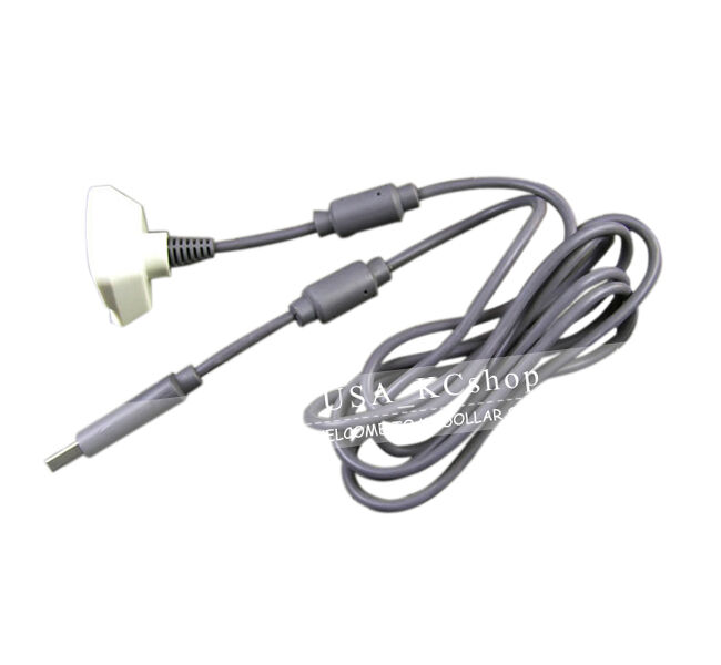 new usb play charger charging cable cord for xbox 360