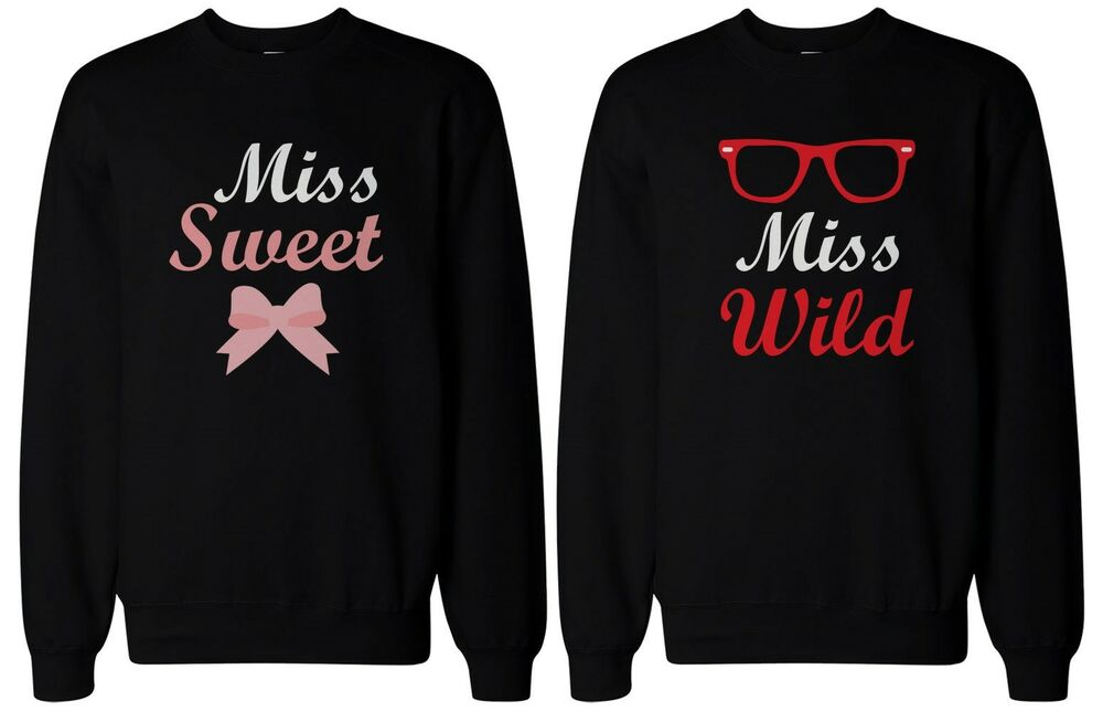 Cute Matching Shirts For Best Friends Sweet Amp Wild Bff