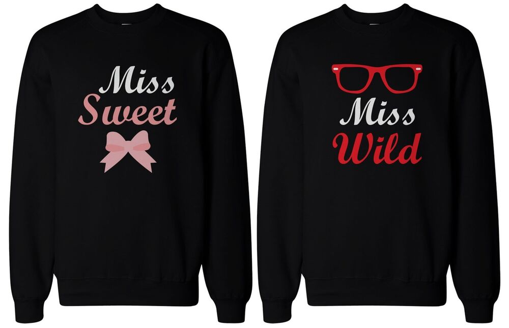 Cute Matching Shirts for Best Friends - Sweet & Wild BFF ...