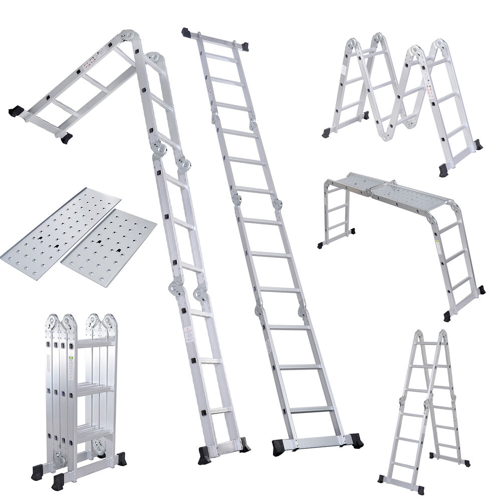 Folding Ladder 12 5ft En131 Aluminum Folding Step