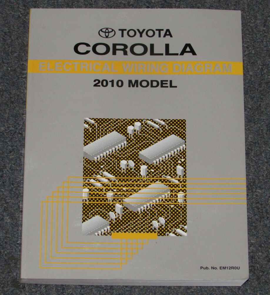 2010 Toyota Corolla Electrical Wiring Diagram Service Manual