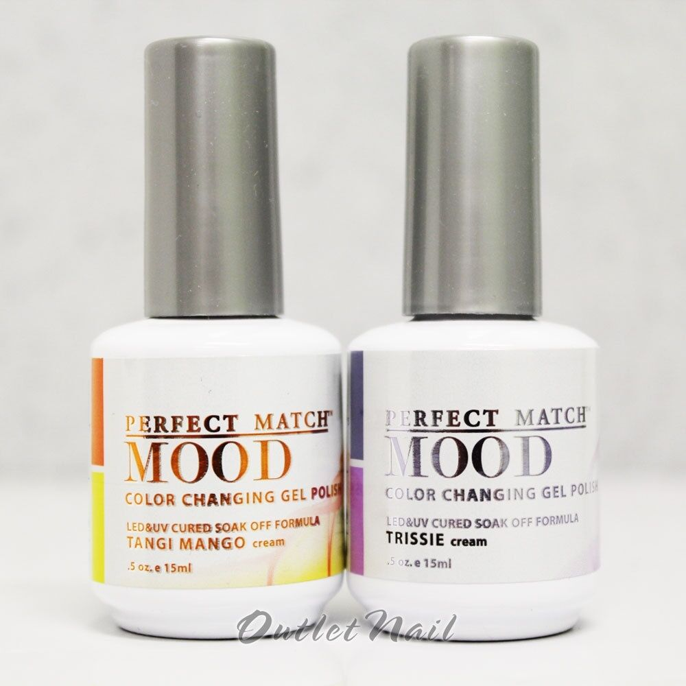 Lechat Perfect Match Mood Changing Color Set Of 2 Gel Polish Collection Lot Kit Ebay
