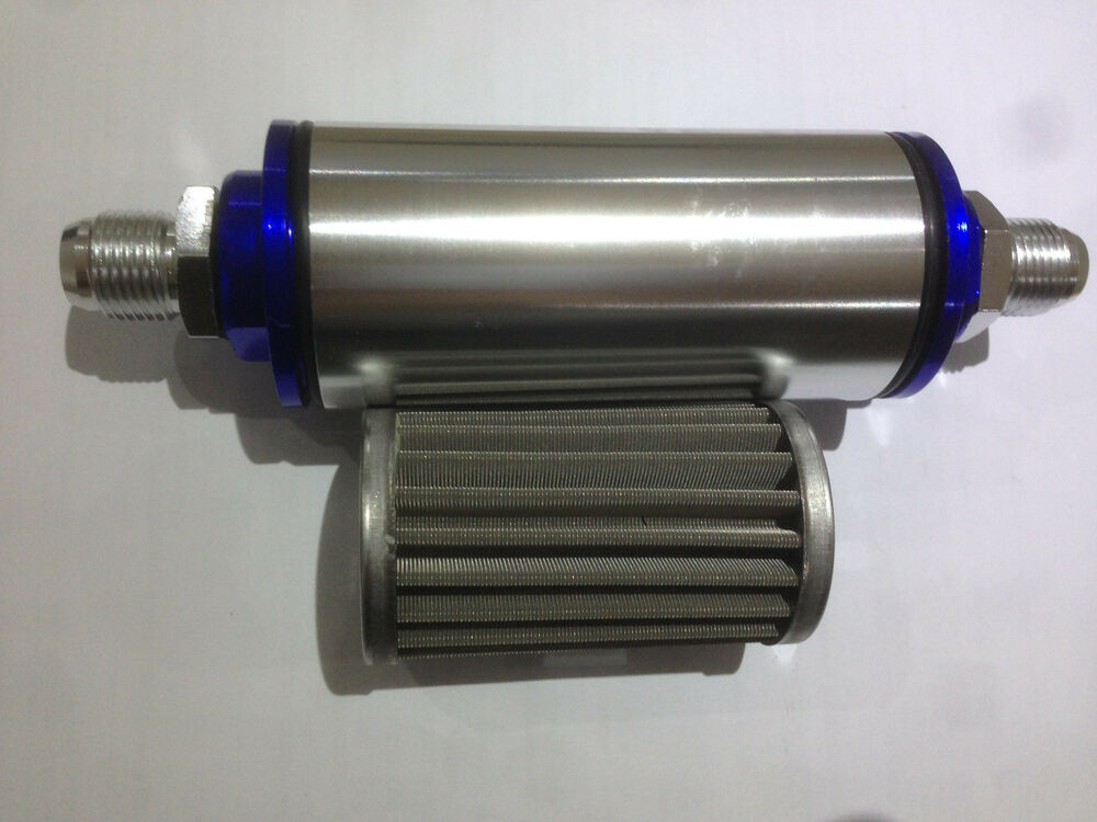 100 Micron Fuel Filter Inline