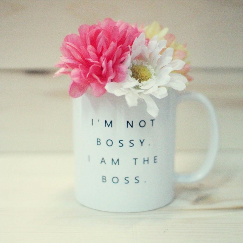 I M Not Bossy I Am The Boss Coffee Mug Statement Mug