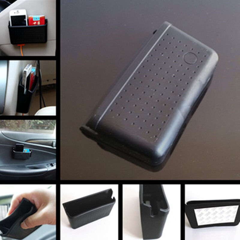 car door instrument desk storage pouch items bag store box phone holder pocket ebay. Black Bedroom Furniture Sets. Home Design Ideas