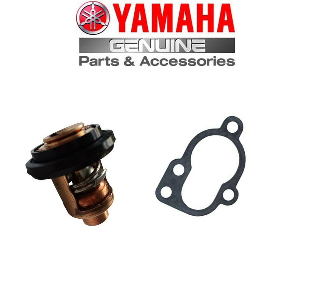 Yamaha outboard thermostat gasket 20hp 25hp 30hp 2 for Yamaha 30hp 2 stroke