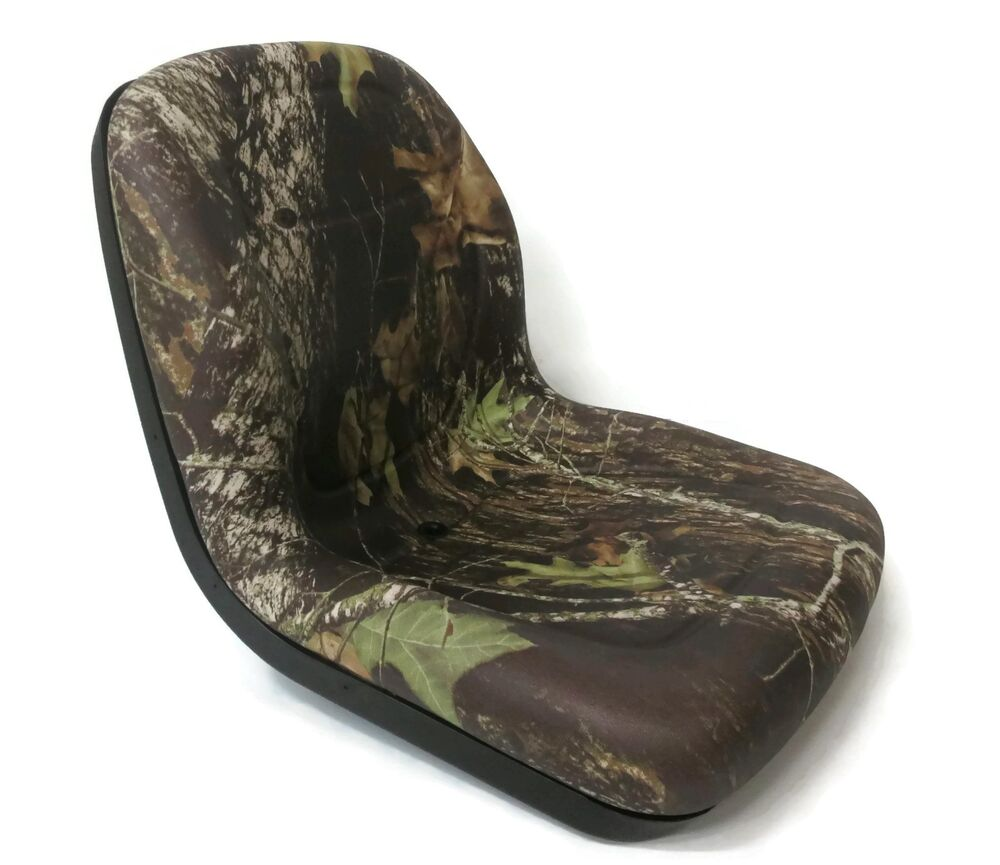 Made in USA Camo HIGH BACK SEAT for Dixon ZTR Zero Turn Lawn Mower Tractor