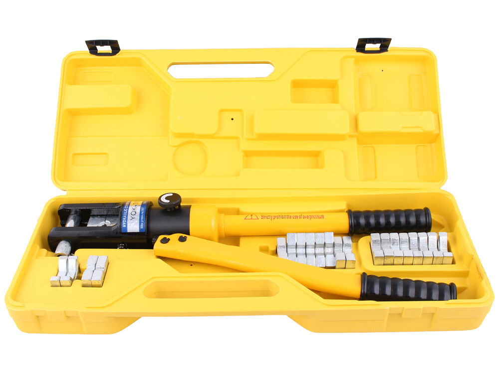 16 Ton 11 Dies Hydraulic Wire Crimper Crimping Tool