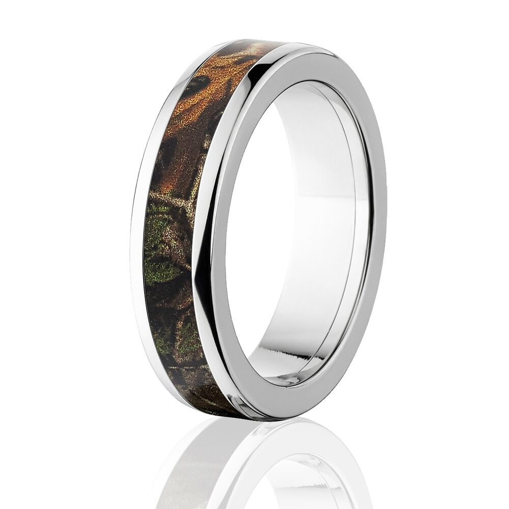 Realtree Wedding Rings: Official Licensed RealTree Xtra Titanium Ring, Camo Rings