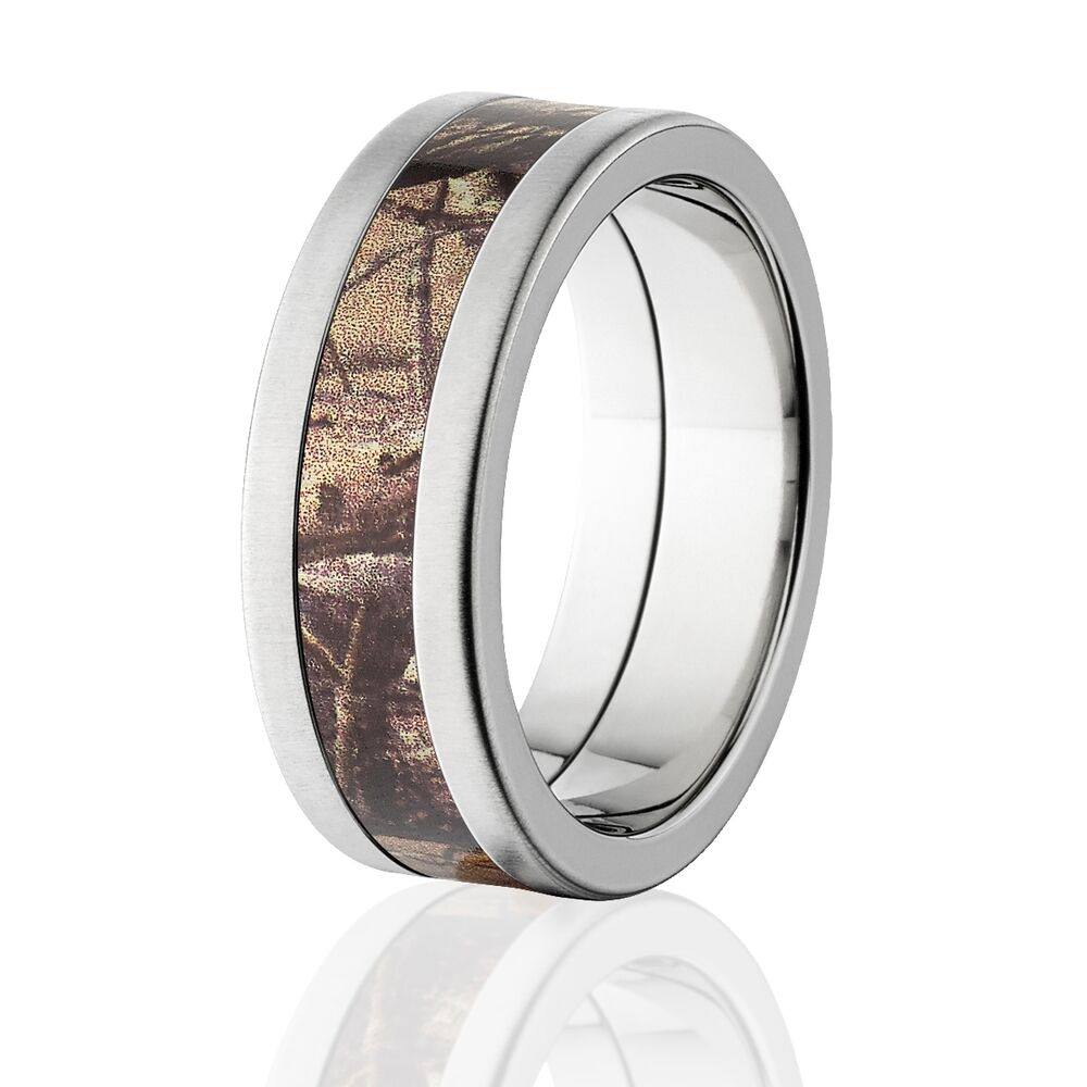 Realtree Titanium Camo Ring