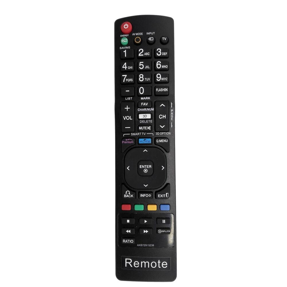 new 3d smart tv remote akb72915238 sub akb72914271 for lg tv 42le4900 32le4900 ebay. Black Bedroom Furniture Sets. Home Design Ideas