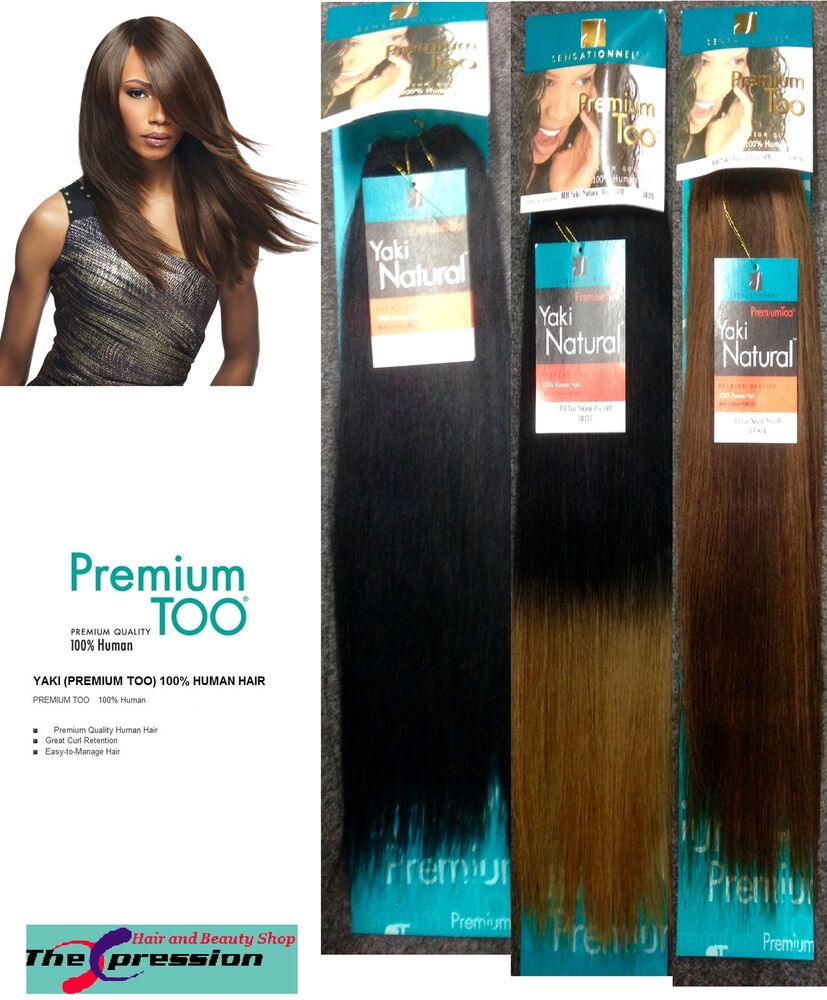 Sensationnel Premium Too Yaki Natural 100 Human Hair