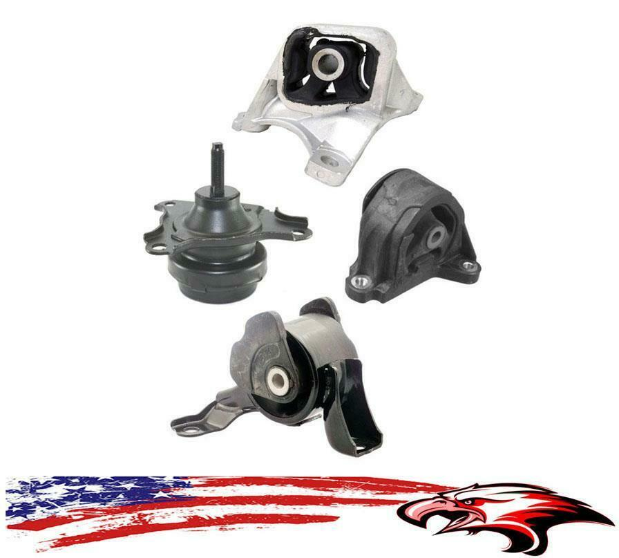 Acura rsx rsx type s 02 06 2 0l m t engine transmission motor mounts kit ebay Acura motor mounts