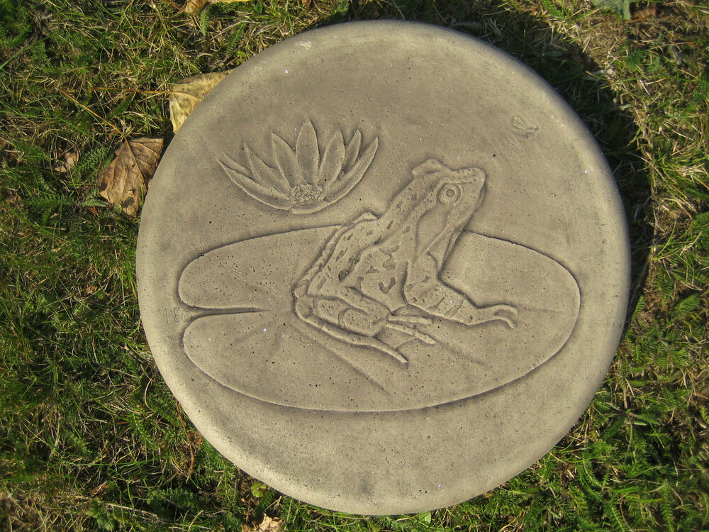 stepping stone frog garden ornament other designs in my