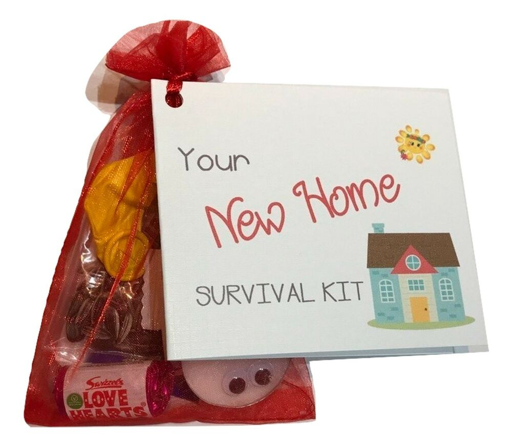 Unique Novelty Survival Kit: Unusual Novelty HOUSE WARMING Gift