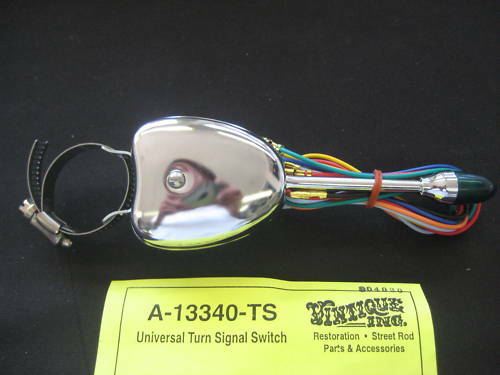 Hot Rod Turn Signals : Turn signal switch universal mount rat rod hot