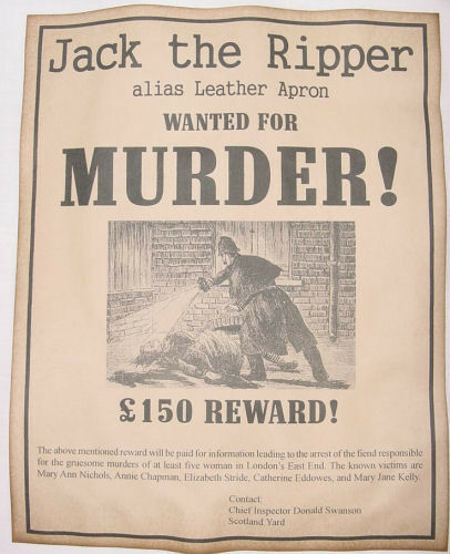jack the ripper coursework assignment