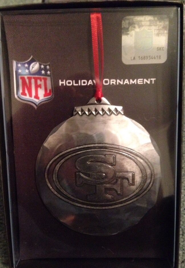 Wendell August Forge San Francisco 49ers Christmas