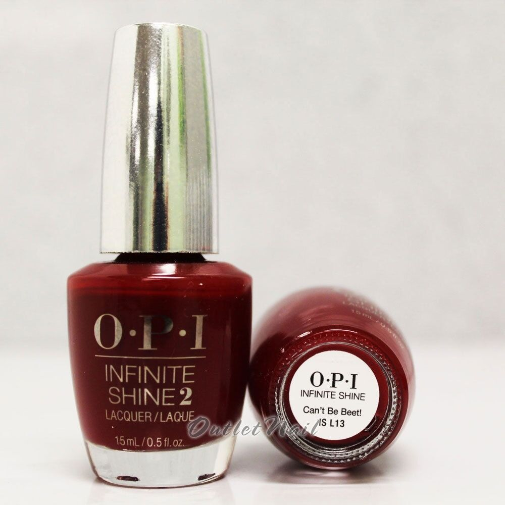 Opi Infinite Shine Can T Be Beet Air Dry 10 Day Nail Polish 0 5 Oz Is L13 Ebay