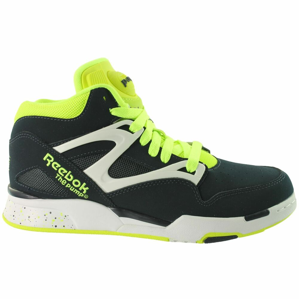39 reebok pump omni lite 39 boots original m42822 mens trainers uk classic dark navy ebay. Black Bedroom Furniture Sets. Home Design Ideas