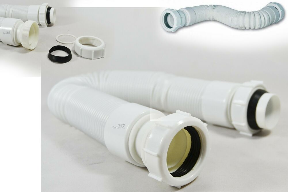 11 2 40mm extendable flexible waste pipe flexi connector. Black Bedroom Furniture Sets. Home Design Ideas