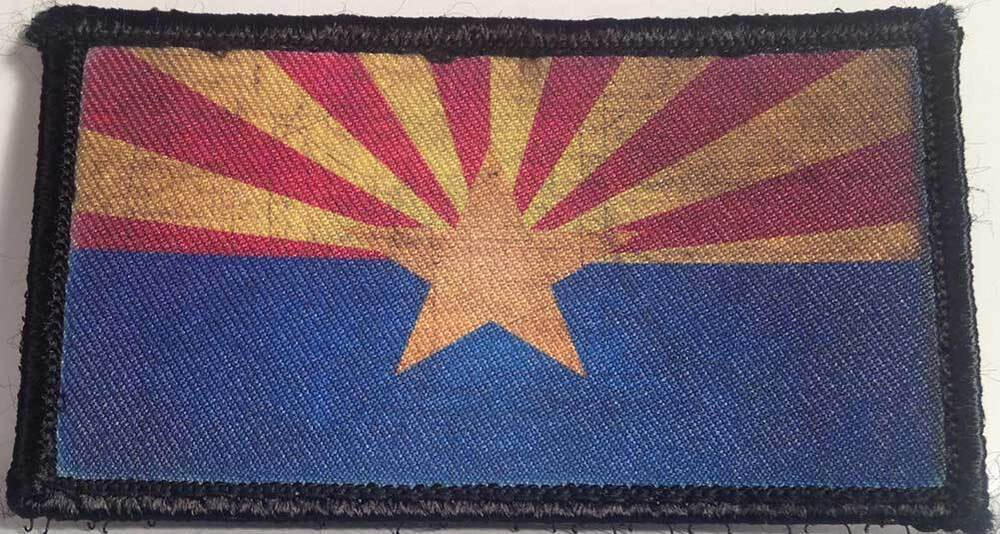 Subdued - Reversed US Flag Sew On Patch - Army Navy Store