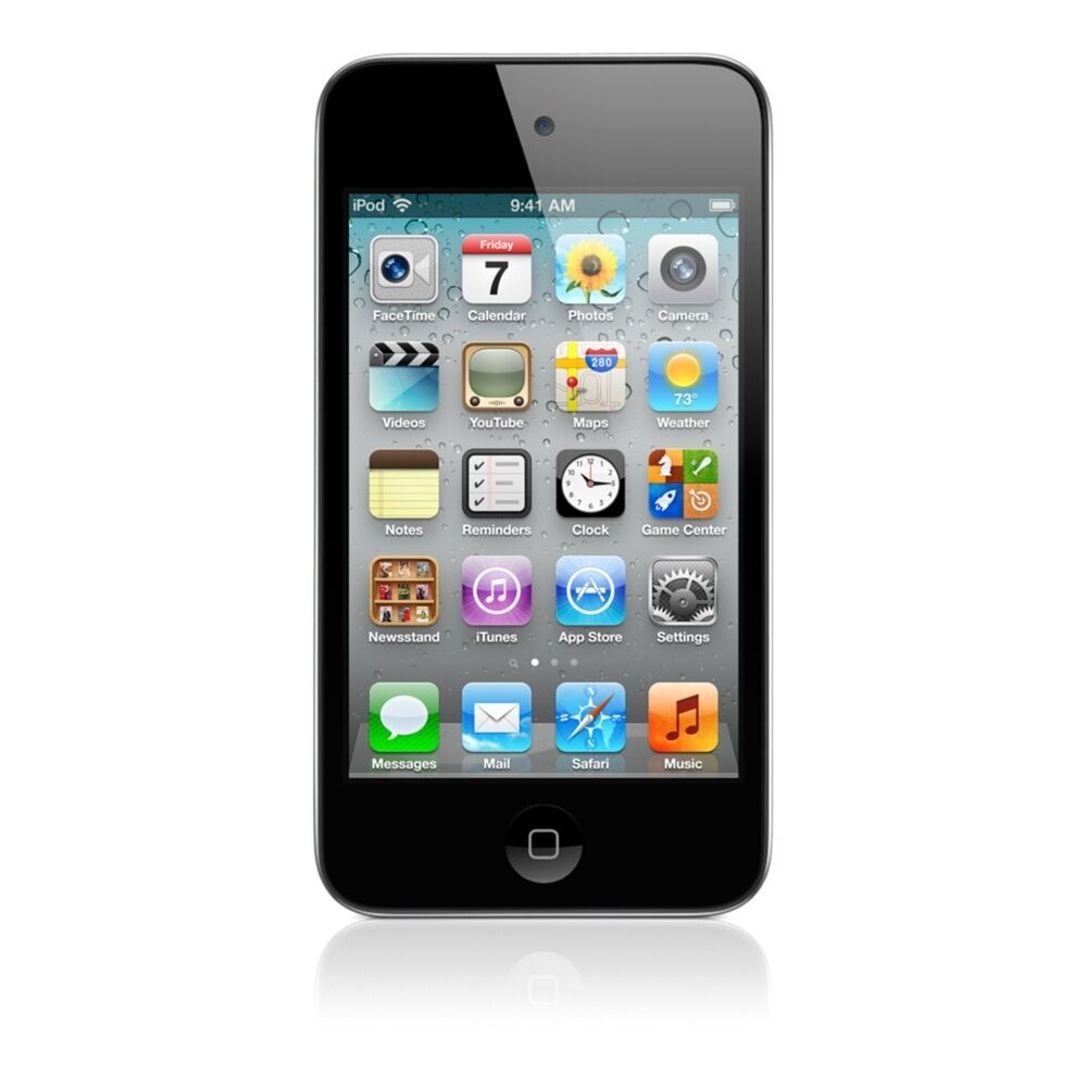 apple ipod touch 4th generation black 32 gb 885909395095. Black Bedroom Furniture Sets. Home Design Ideas
