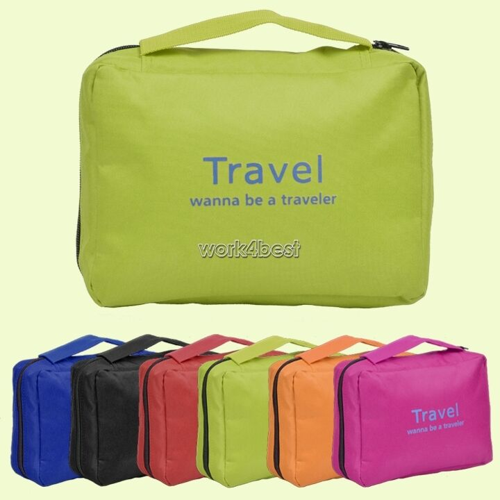 Mens Hanging Travel Toiletries Cases
