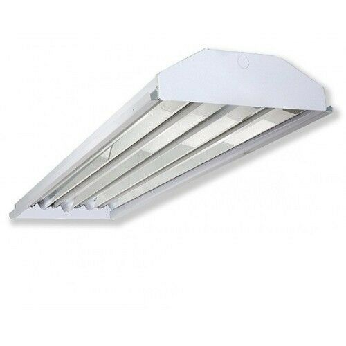4-lamp T5 HO High Bay Fluorescent Lighting Fixture High