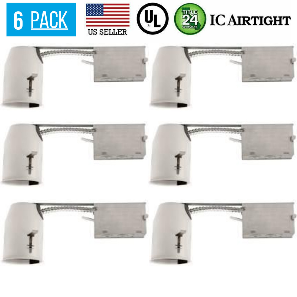 6 Pack 3 Quot Remodel Led Can Airtight Housing Led