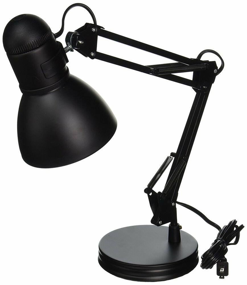 boston harbor architect swing arm desk lamp black free shipping new ebay. Black Bedroom Furniture Sets. Home Design Ideas