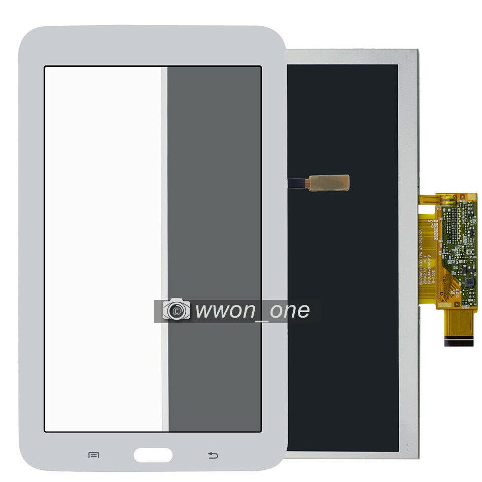 white samsung galaxy tab 3 lite 7 0 sm t110 lcd display. Black Bedroom Furniture Sets. Home Design Ideas