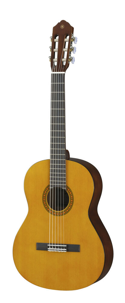yamaha cs40ii 3 4 sized nylon string classical acoustic guitar brand new ebay. Black Bedroom Furniture Sets. Home Design Ideas