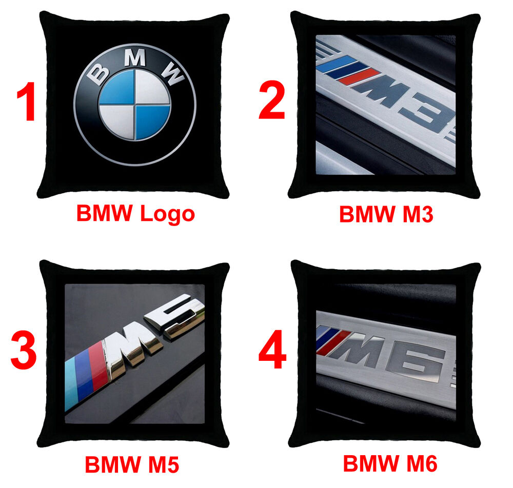 Bmw M3 M5 M6 Series Car Logo Z3 Z4 E60 E90 X5 X6 18 Quot X18 Quot Throw Pillow Case Cover Ebay