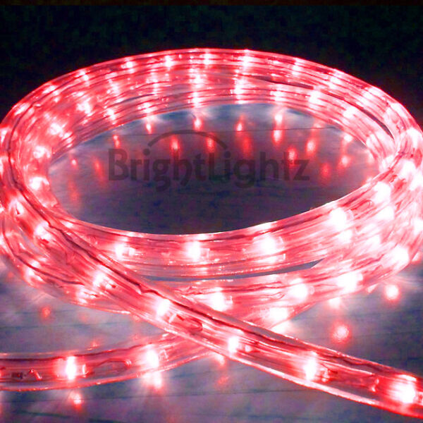 1m Mesh Rope With Red Led Lights