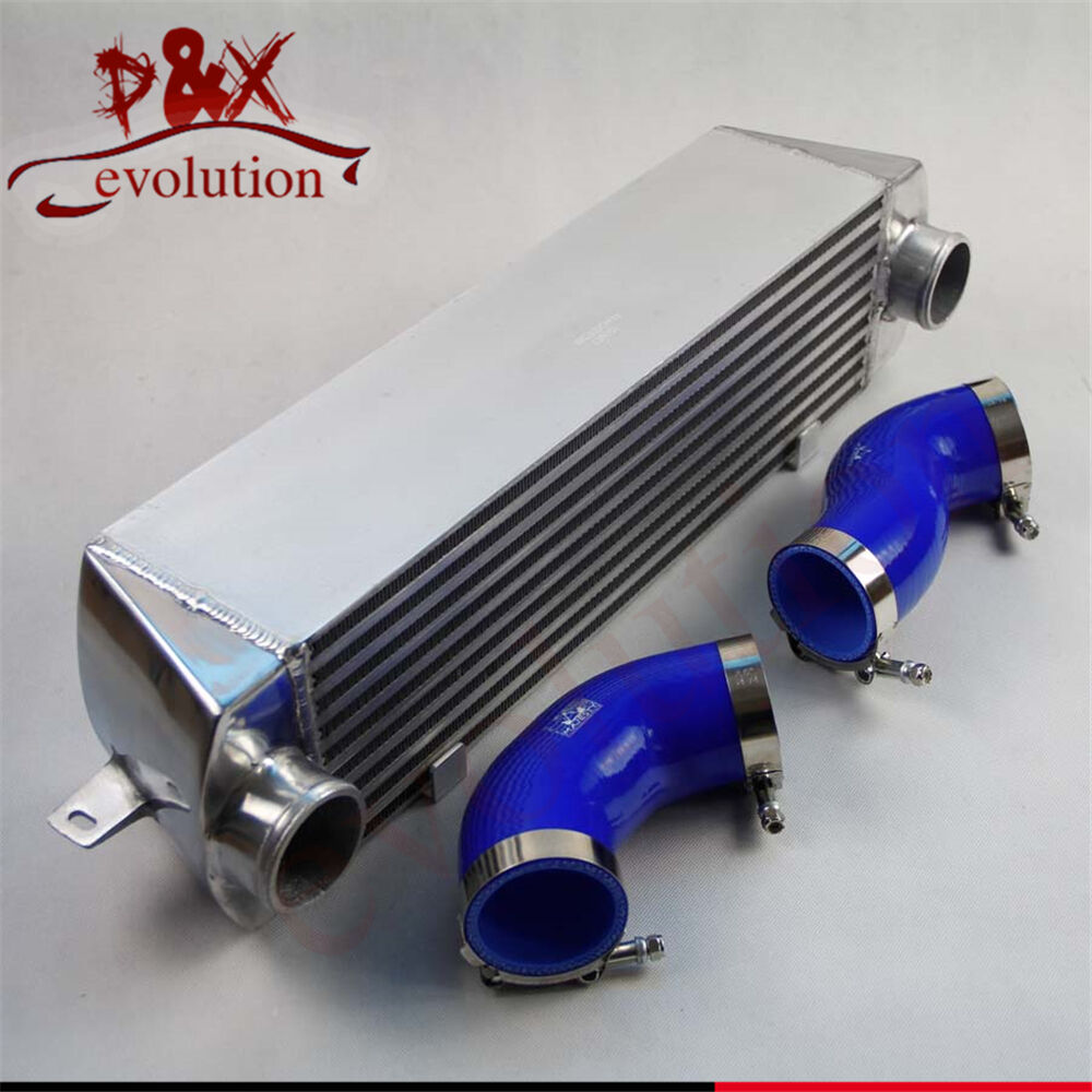 blue twin turbo intercooler kit for bmw 135 135i 335 335i e90 e92 2006 2010 n54 ebay. Black Bedroom Furniture Sets. Home Design Ideas