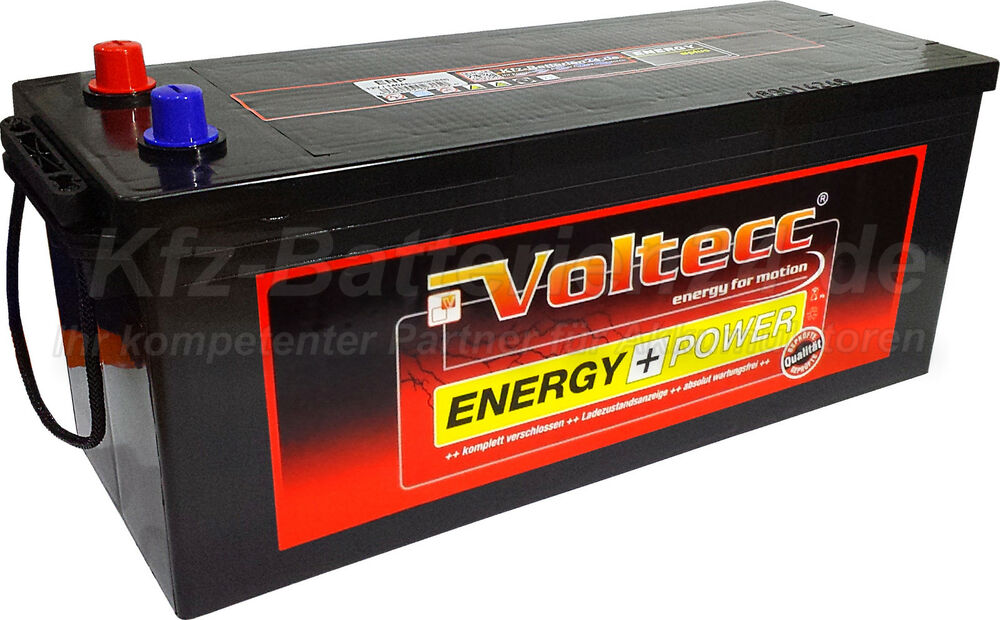 voltecc plus lkw batterie nkw bus batterie schlepper 12v. Black Bedroom Furniture Sets. Home Design Ideas