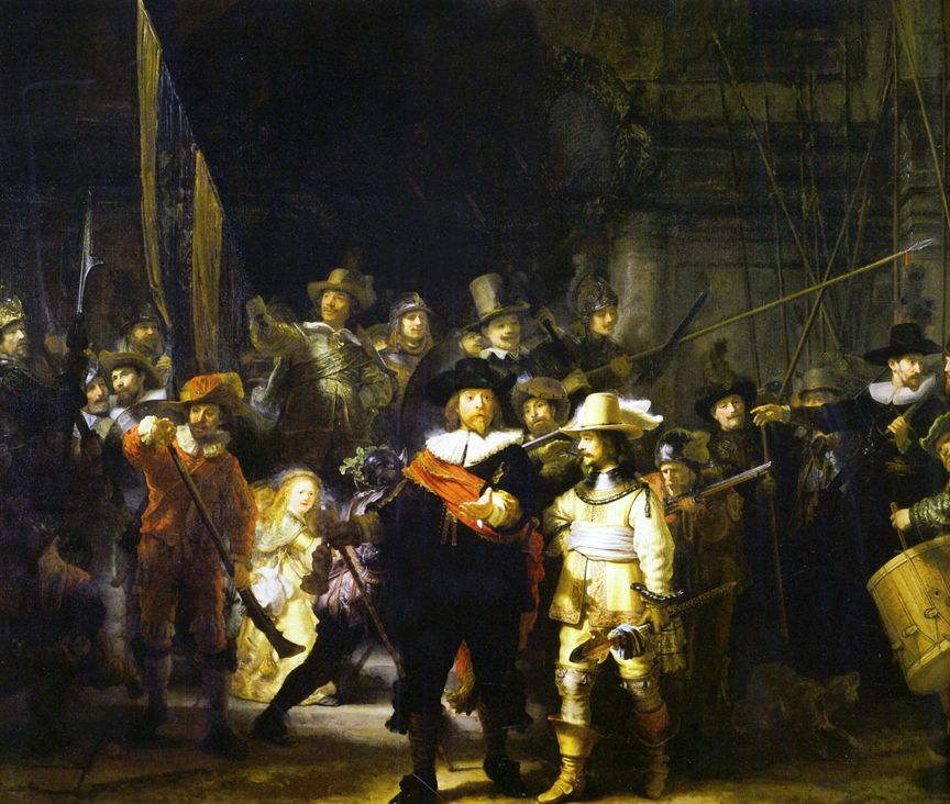 The Night Watch by Rembrandt Giclee Canvas Print Repro   eBay