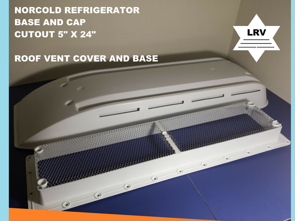 Norcold Refrigerator Vent Cover With Base For Rv Camper