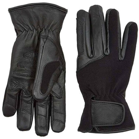 img-HIGHLANDER SPECIAL OPS TACTICAL COMBAT LEATHER GLOVES MILITARY SHOOTING BLACK