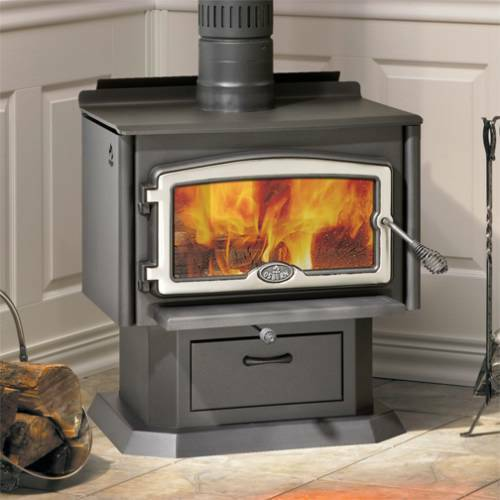 Osburn 1500 series high efficiency epa wood stove with for Small efficient wood stoves
