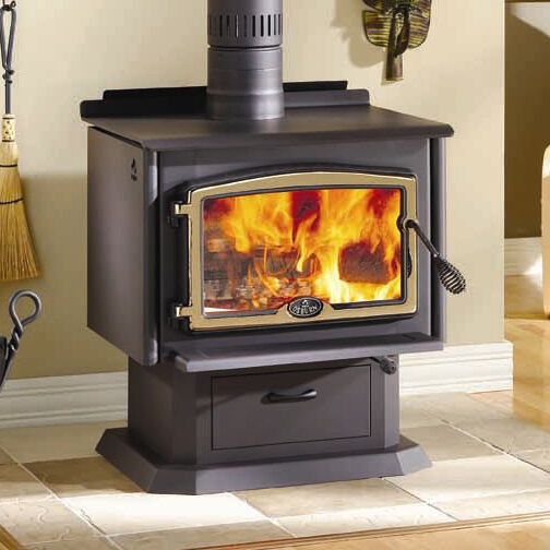 Osburn 2000 high efficiency epa woodburning stove with for Small efficient wood stoves