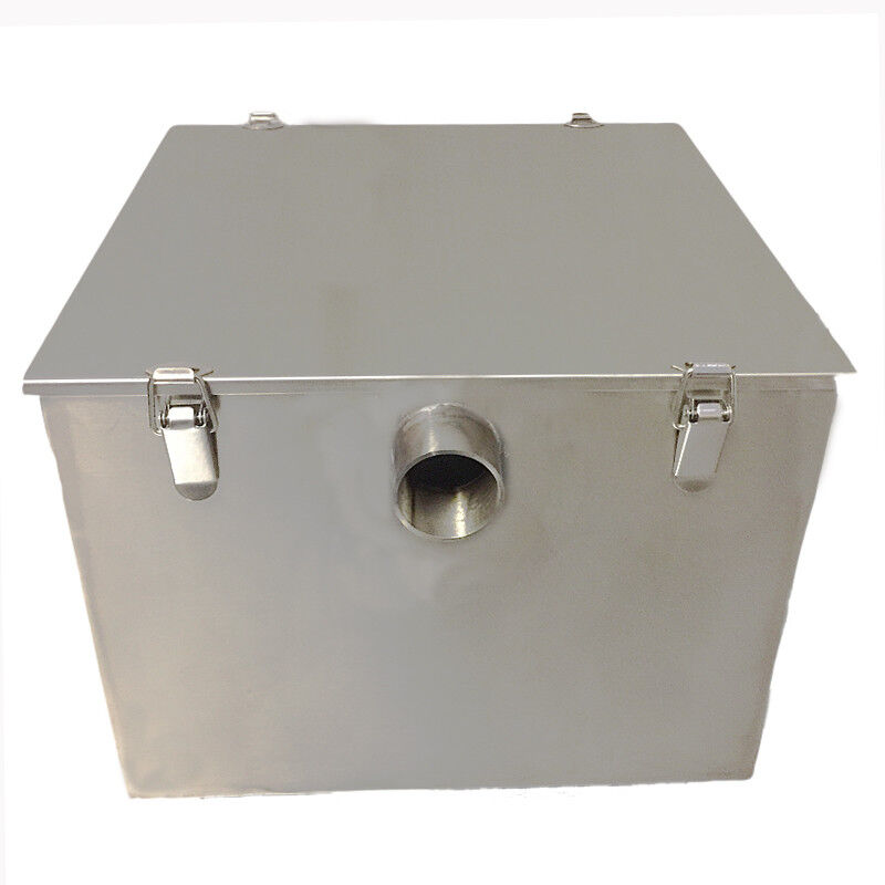 Industrial Kitchen Grease Trap: Grease Traps, Commercial, Stainless Steel, 9 Kilo, & Waste
