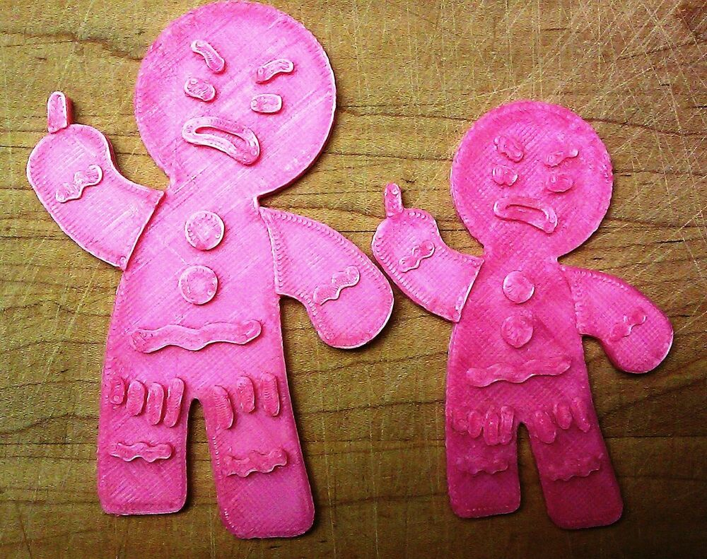 Gingy Cookie Cutter - The Gingerbread Man from Shrek - Choice of ...