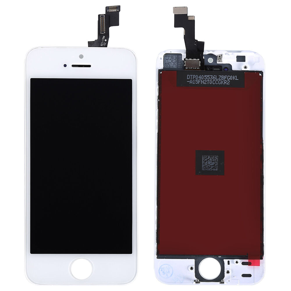 iphone lcd repair white lcd display touch screen digitizer assembly 11982